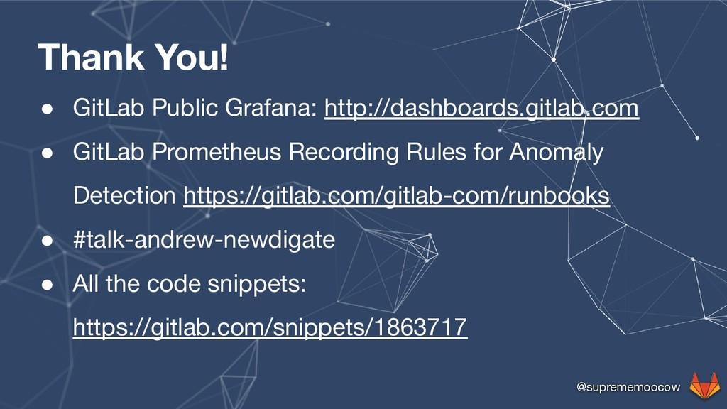 @suprememoocow Thank You! ● GitLab Public Grafa...