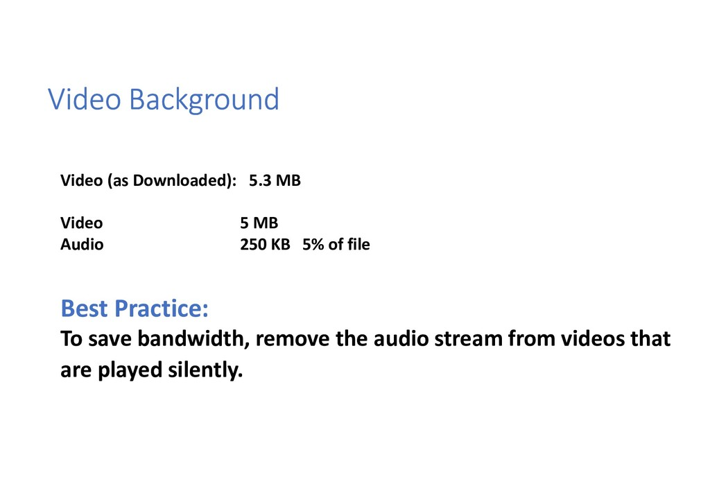 Video Background Video (as Downloaded): 5.3 MB ...