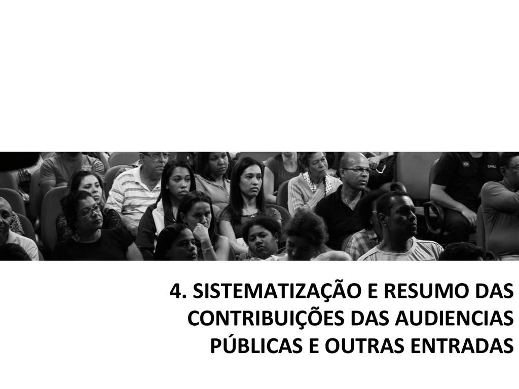 4. SISTEMATIZAÇÃO E RESUMO DAS  ...