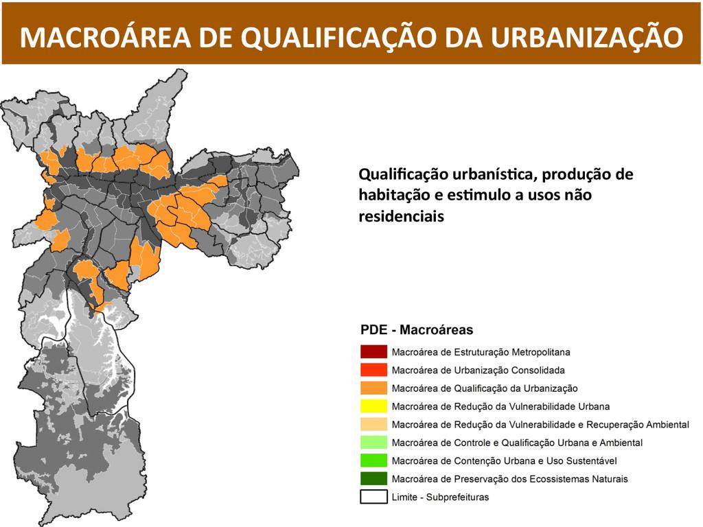 MACROÁREA DE QUALIFICAÇÃO DA URBANI...