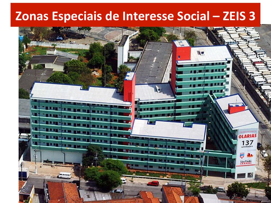 Zonas Especiais de Interesse Social...