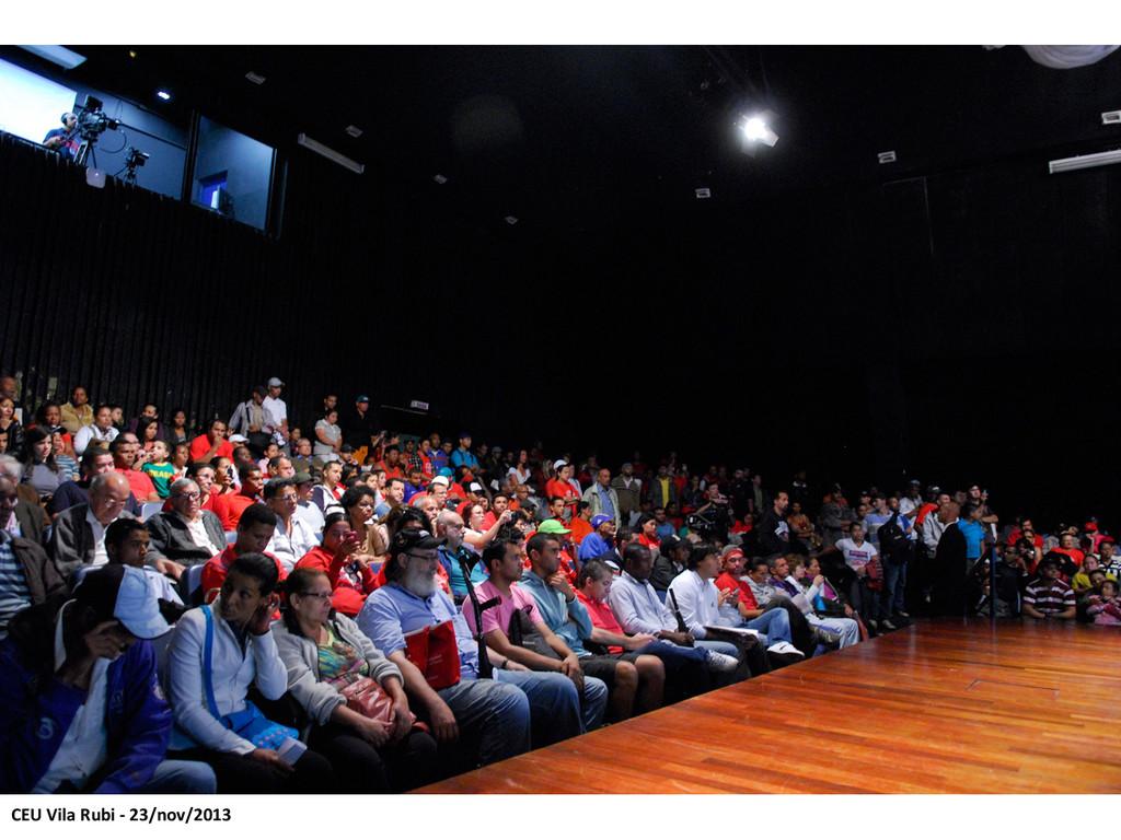 CEU Vila Rubi -‐ 23/nov/2013