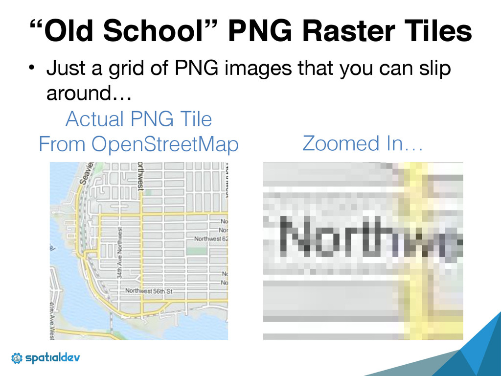 """""""Old School"""" PNG Raster Tiles • Just a grid of ..."""