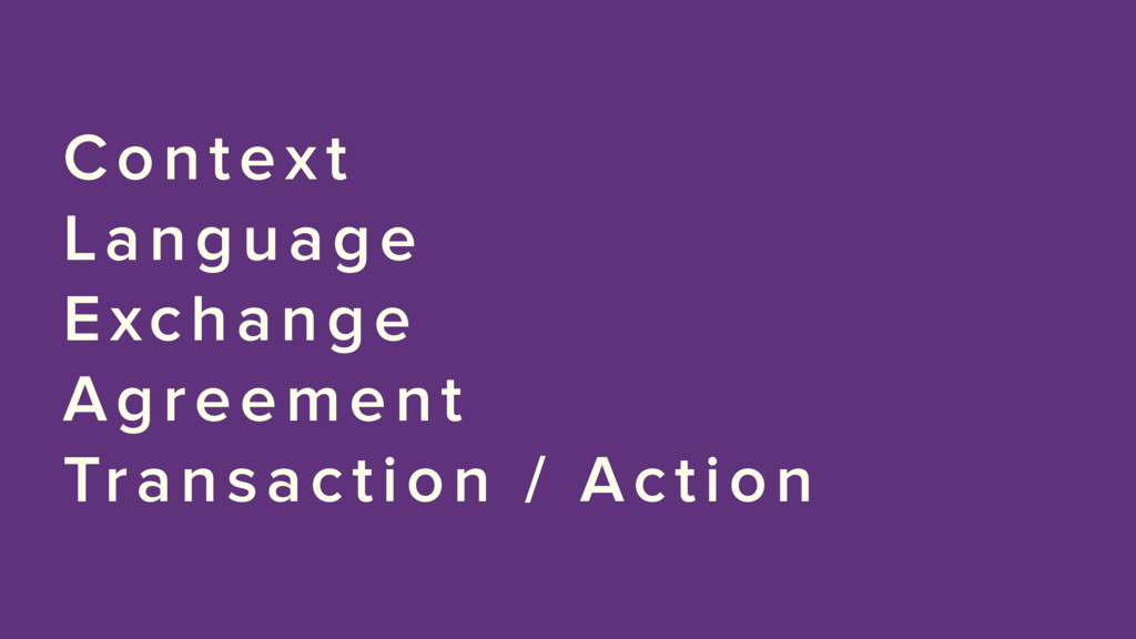 Context Language Exchange Agreement Transaction...