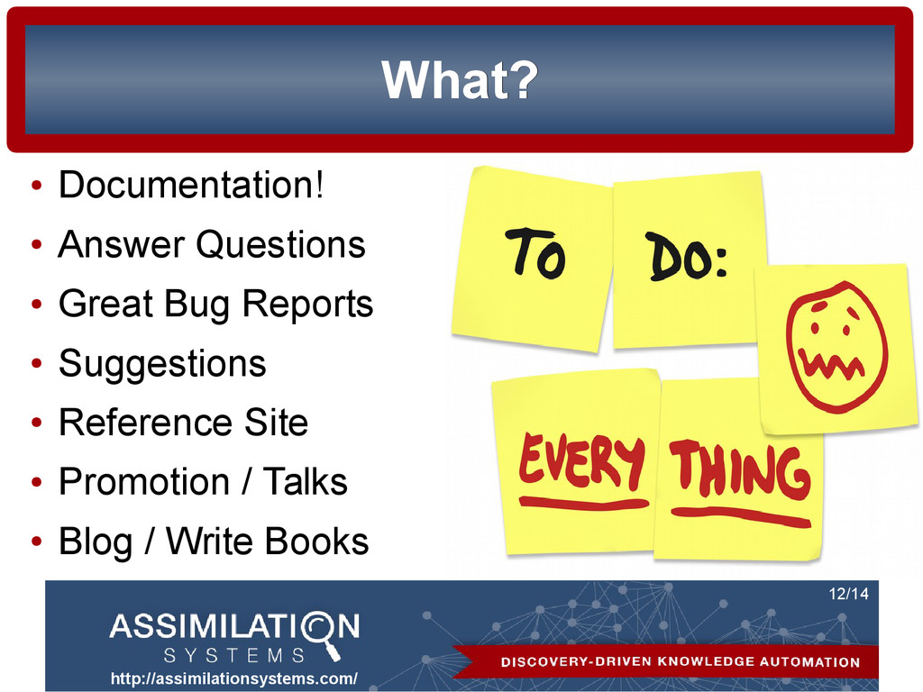 http://assimilationsystems.com/ 12/14 What? Wha...
