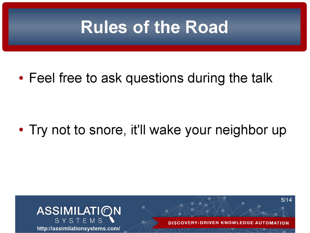http://assimilationsystems.com/ 5/14 Rules of t...