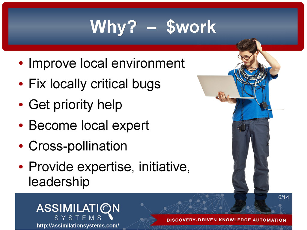 http://assimilationsystems.com/ 6/14 Why? Why? ...
