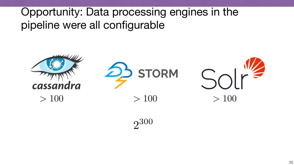 Opportunity: Data processing engines in the pip...