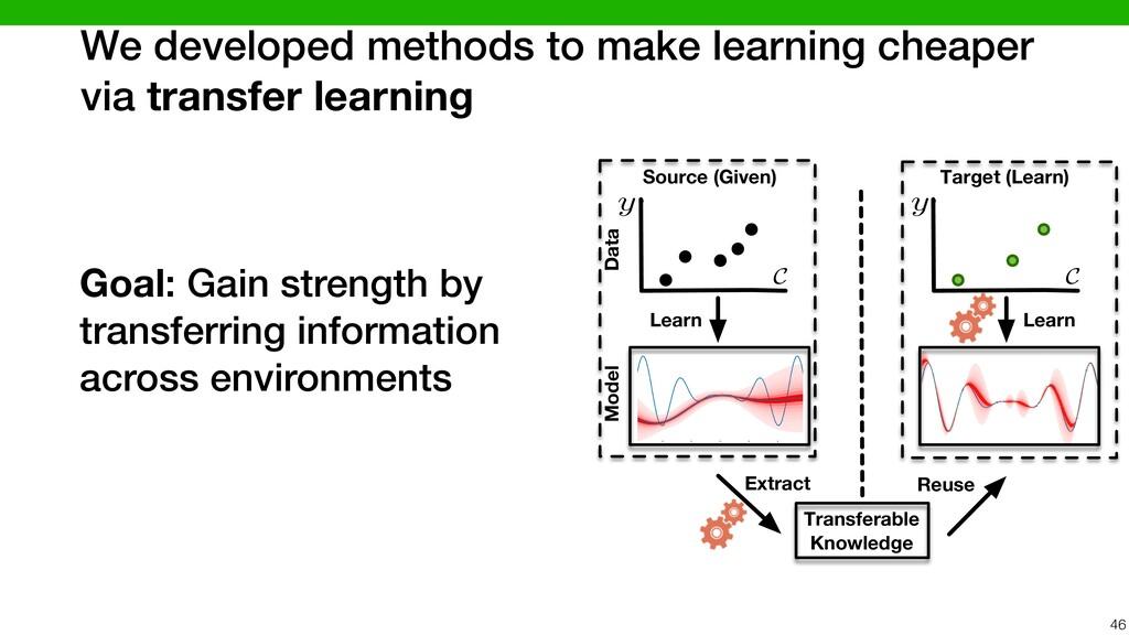 We developed methods to make learning cheaper v...