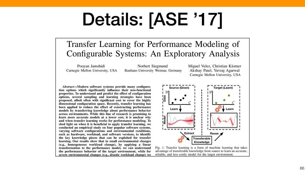 66 Transfer Learning for Performance Modeling o...