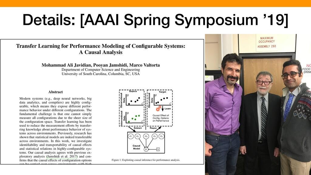 67 Details: [AAAI Spring Symposium '19]