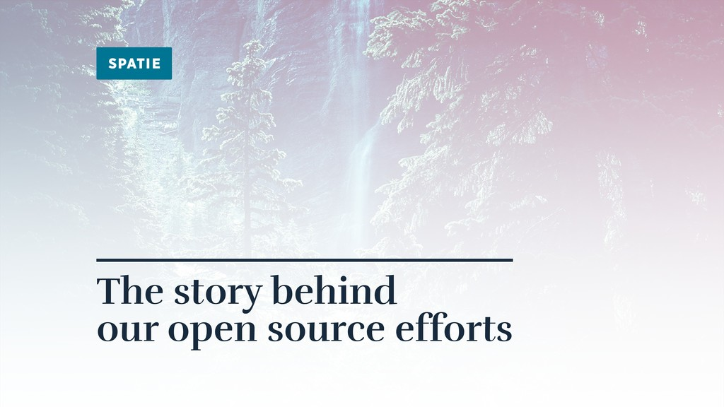 The story behind 