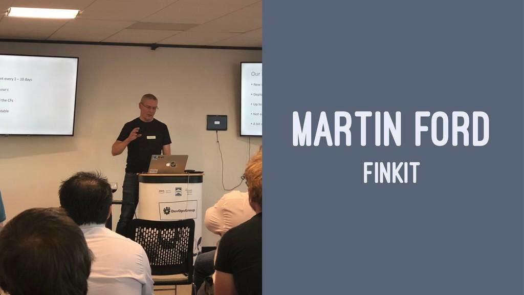 MARTIN FORD FINKIT