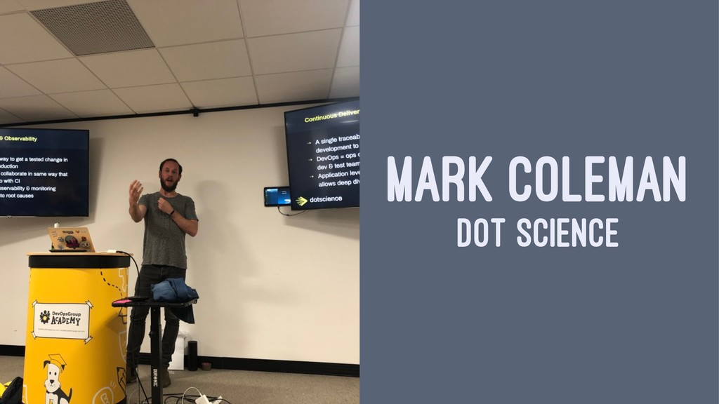 MARK COLEMAN DOT SCIENCE