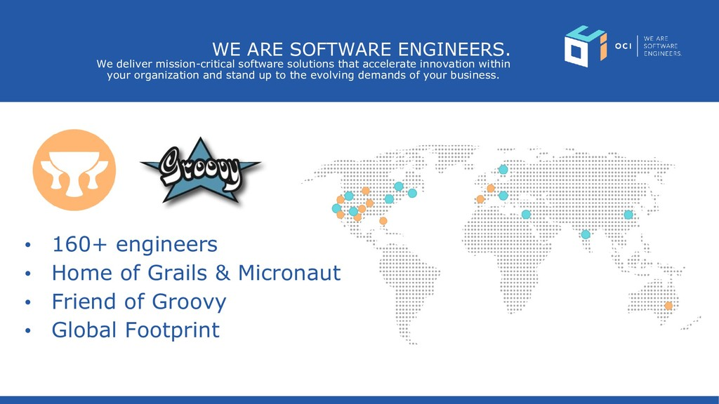 WE ARE SOFTWARE ENGINEERS. We deliver mission-c...