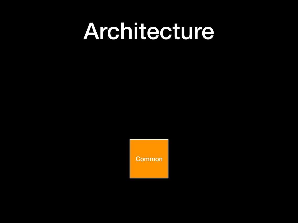 Architecture Common