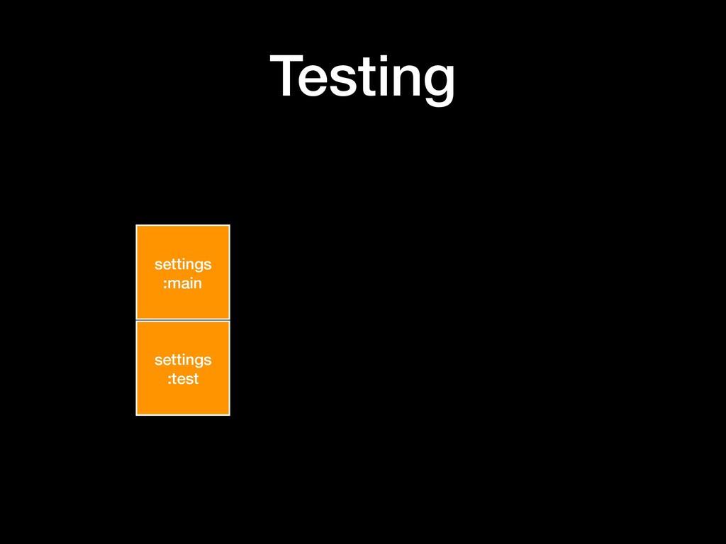 Testing settings :main settings :test