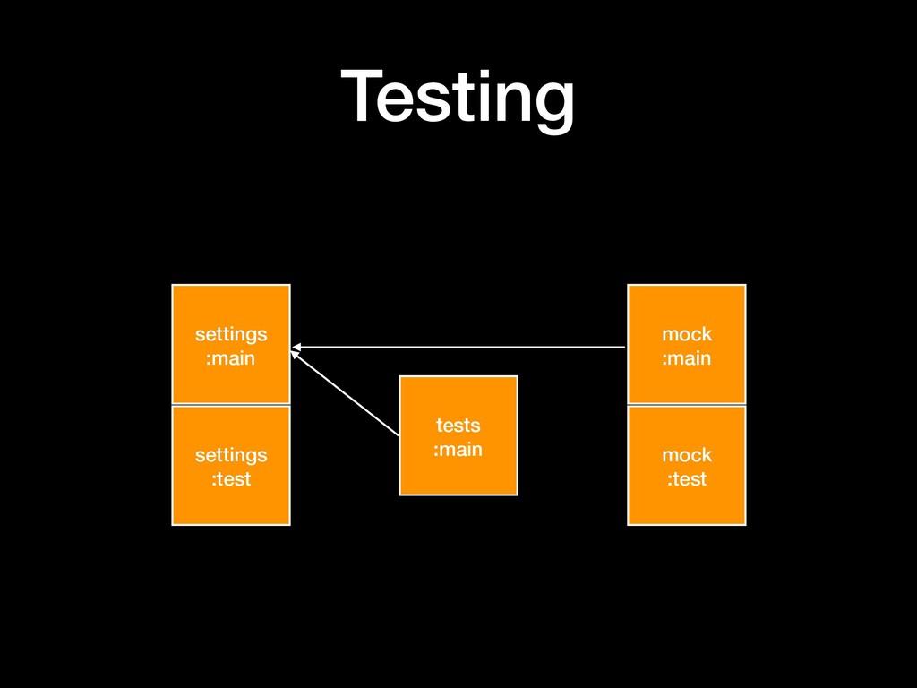 Testing settings :main settings :test mock :mai...