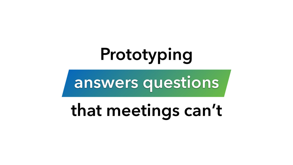 Prototyping 