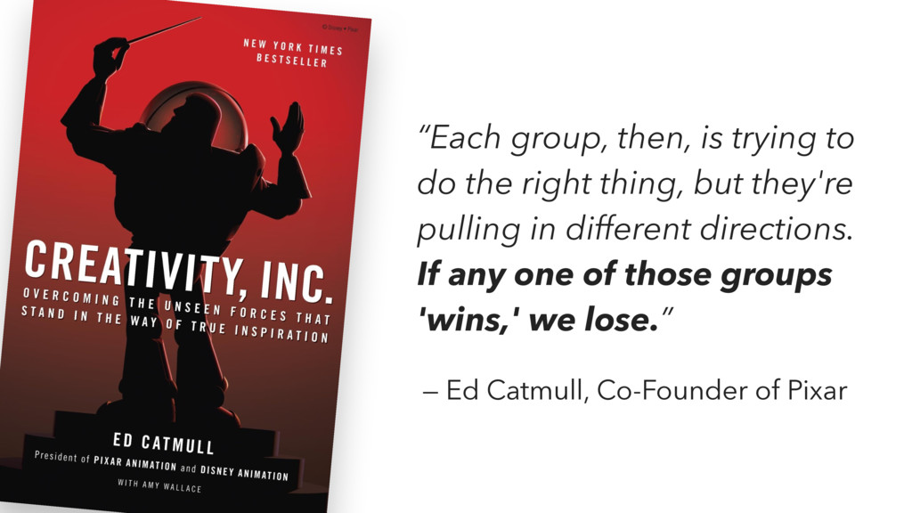 """Each group, then, is trying to do the right th..."