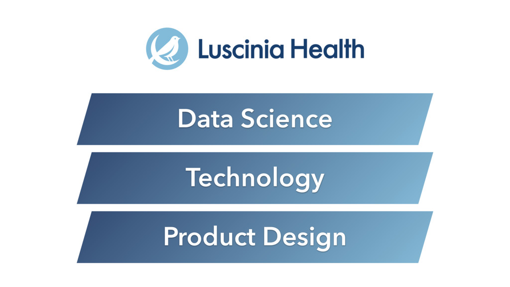 Data Science Technology Product Design