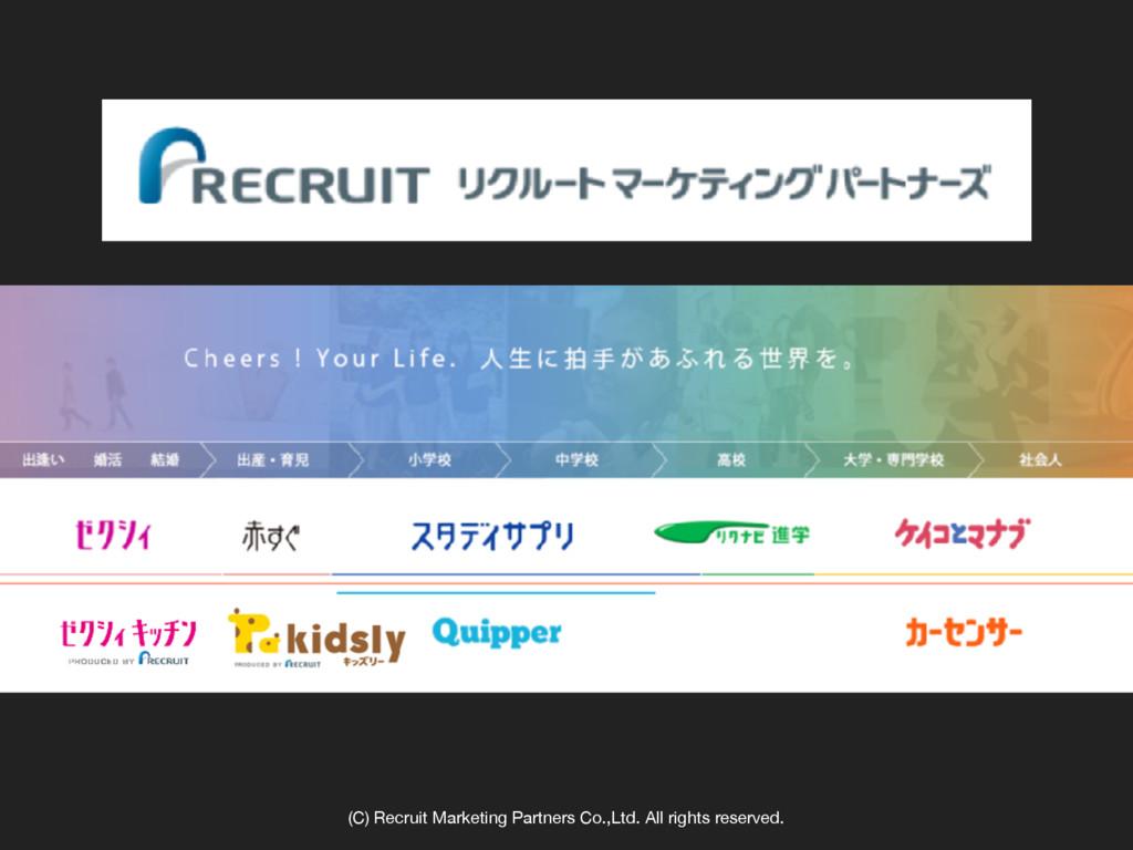 (C) Recruit Marketing Partners Co.,Ltd. All rig...