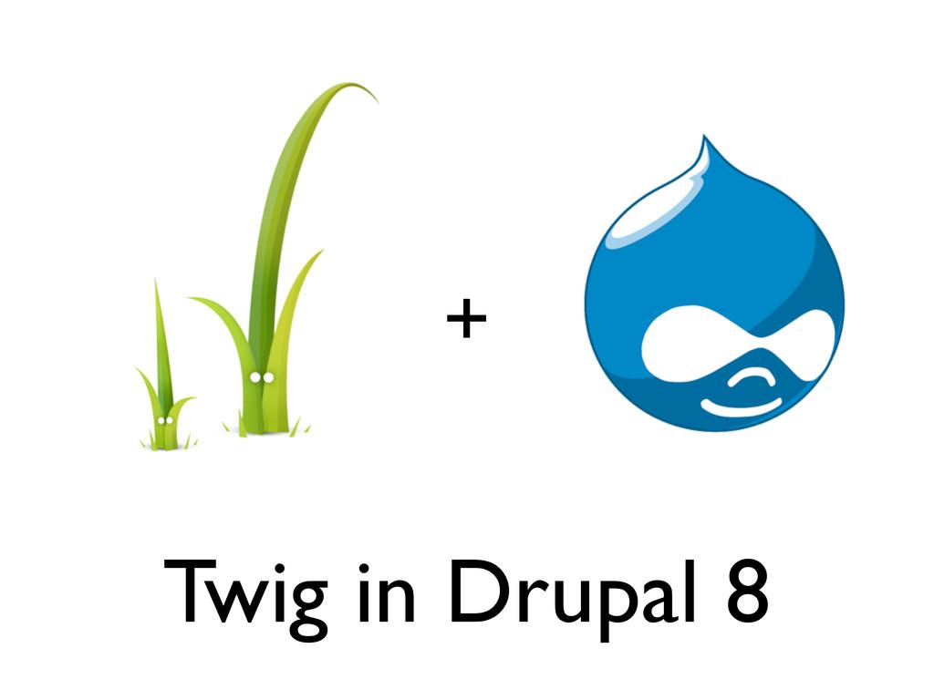 + Twig in Drupal 8