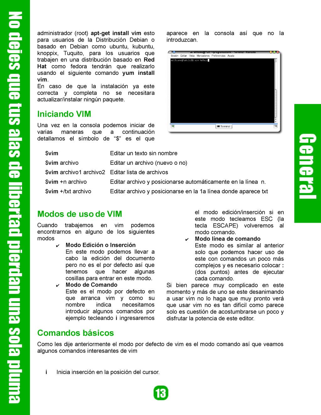 administrador (root) apt-get install vim esto p...