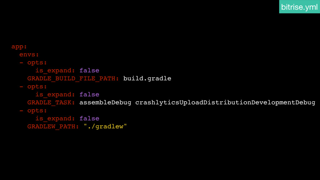app: envs: - opts: is_expand: false GRADLE_BUIL...