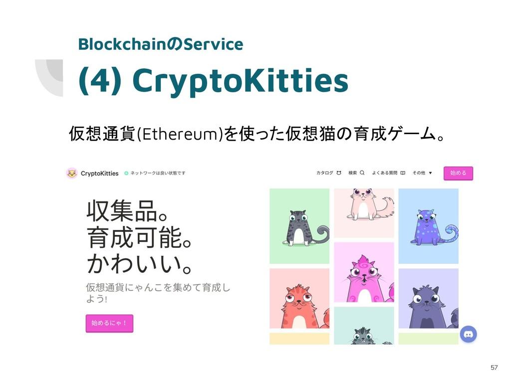 (4) CryptoKitties 仮想通貨(Ethereum)を使った仮想猫の育成ゲーム。 ...