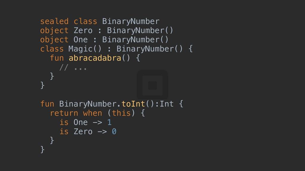 sealed class BinaryNumber object Zero : BinaryN...