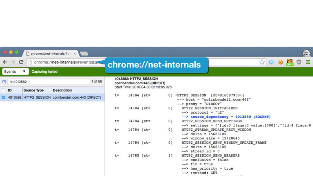 chrome://net-internals