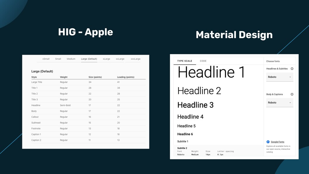 HIG - Apple Material Design