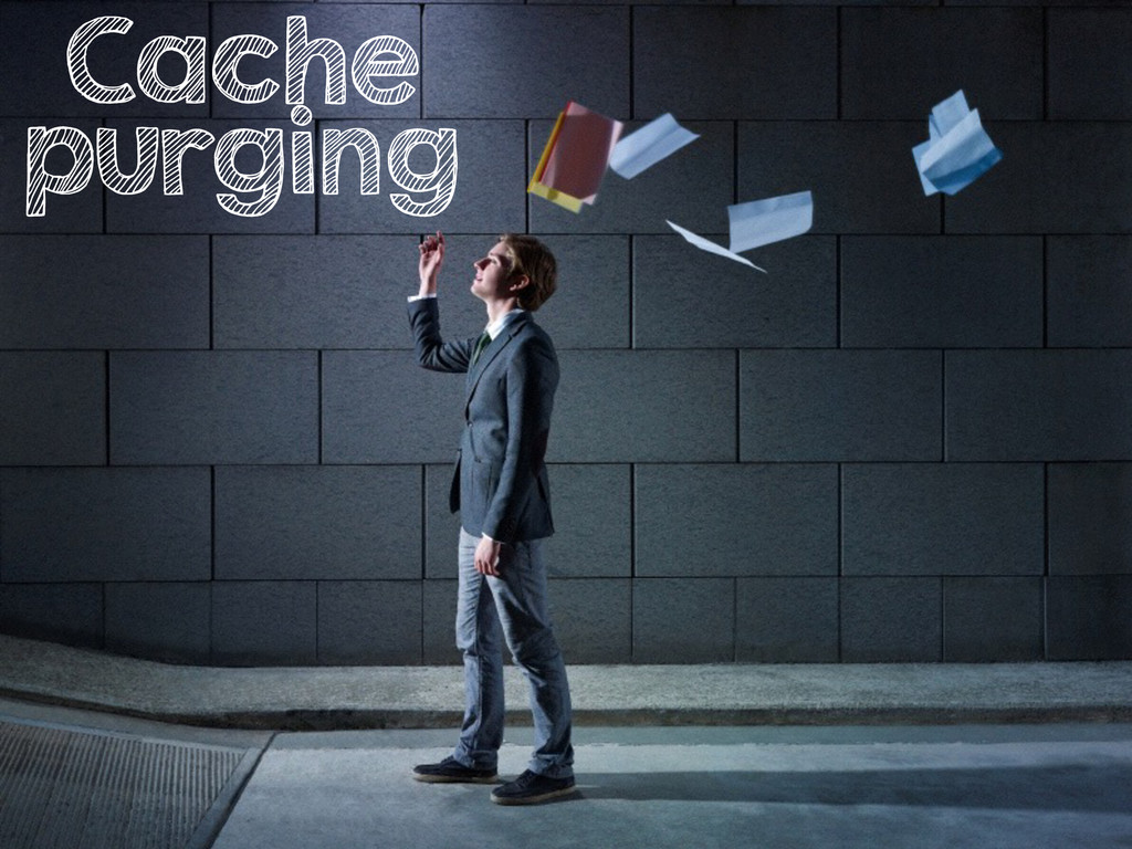 Cache purging