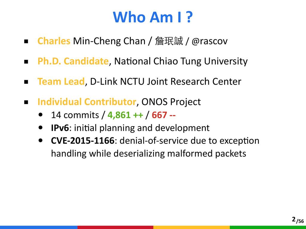 /56 ■ Charles Min-‐Cheng Chan / 詹珉誠 / @r...