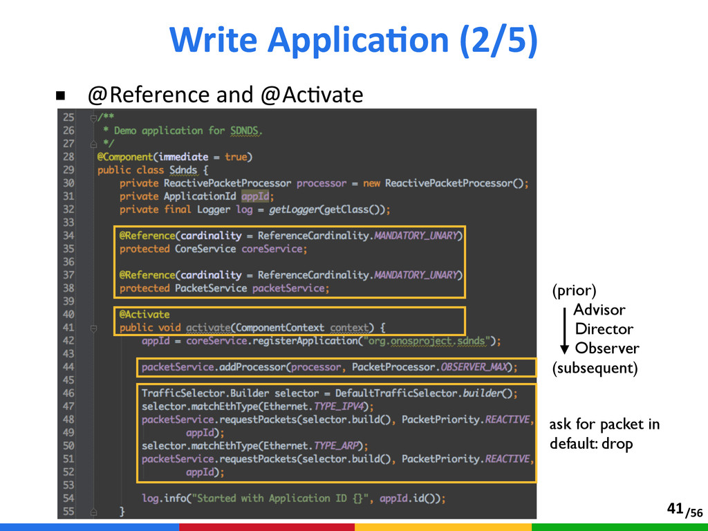 /56 ■ @Reference and @AcAvate Write ApplicaT...