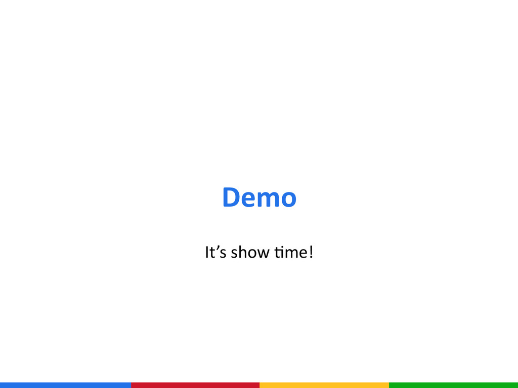 Demo It's show Ame!
