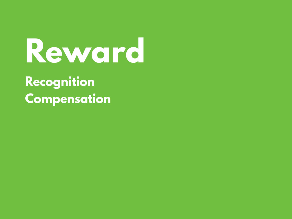 Reward Recognition Compensation