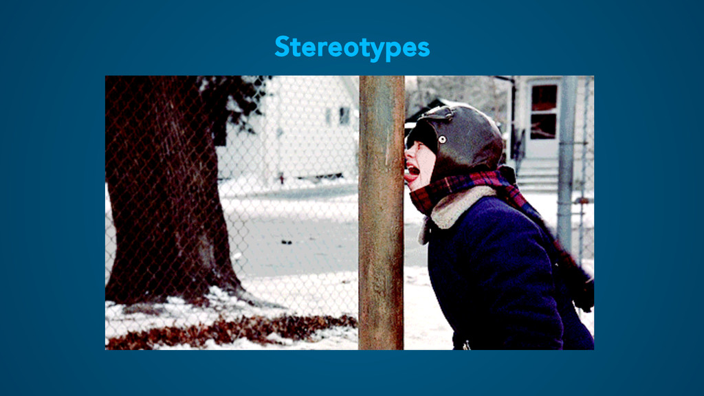 Stereotypes I have never fought a polar bear wi...