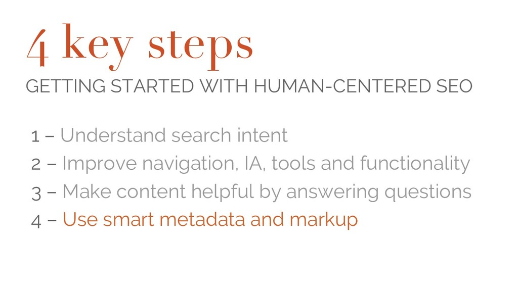 4 key steps GETTING STARTED WITH HUMAN-CENTERED...