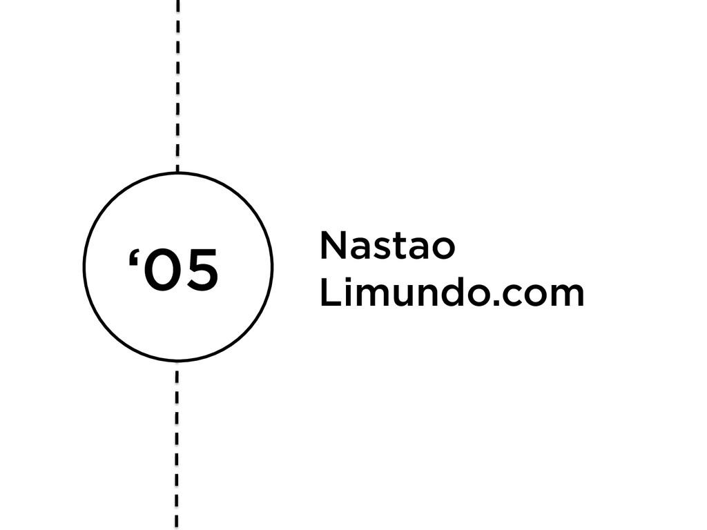 '05 Nastao Limundo.com