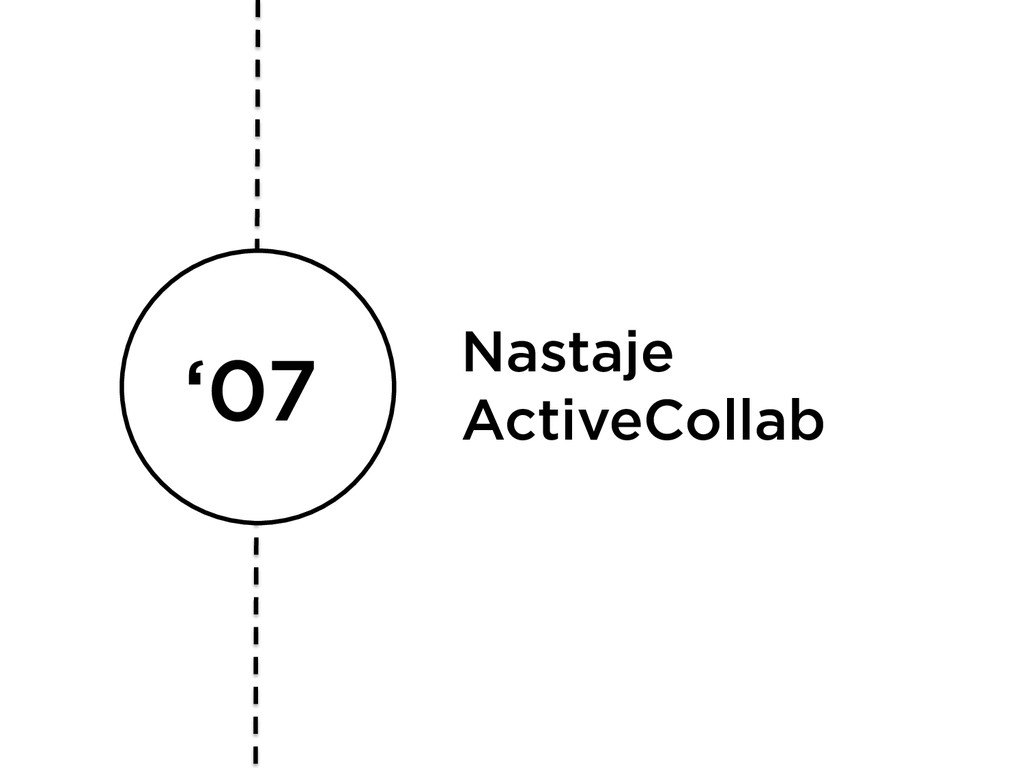 '07 Nastaje ActiveCollab