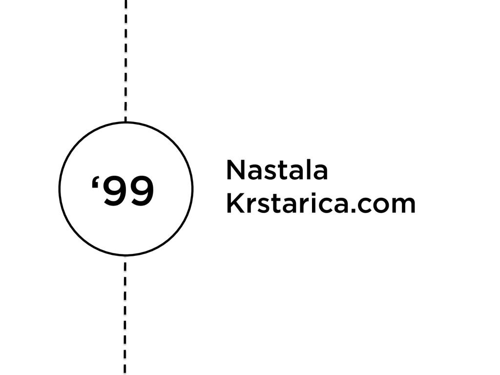'99 Nastala Krstarica.com