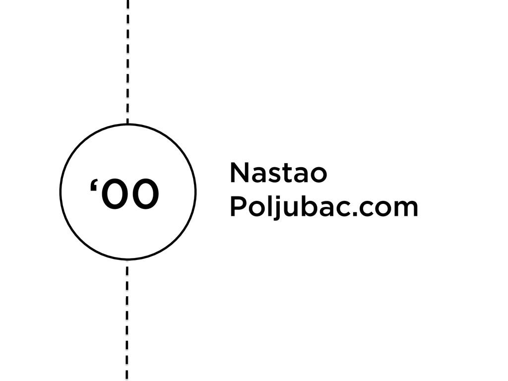 '00 Nastao Poljubac.com