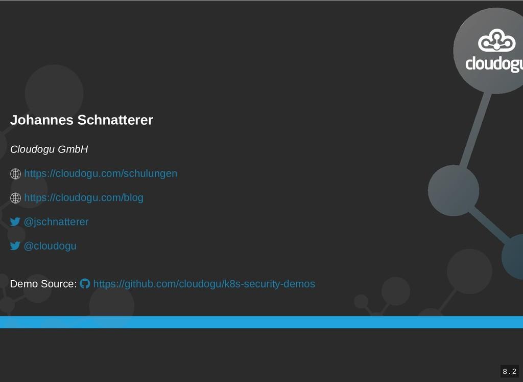 Johannes Schnatterer Johannes Schnatterer Cloud...
