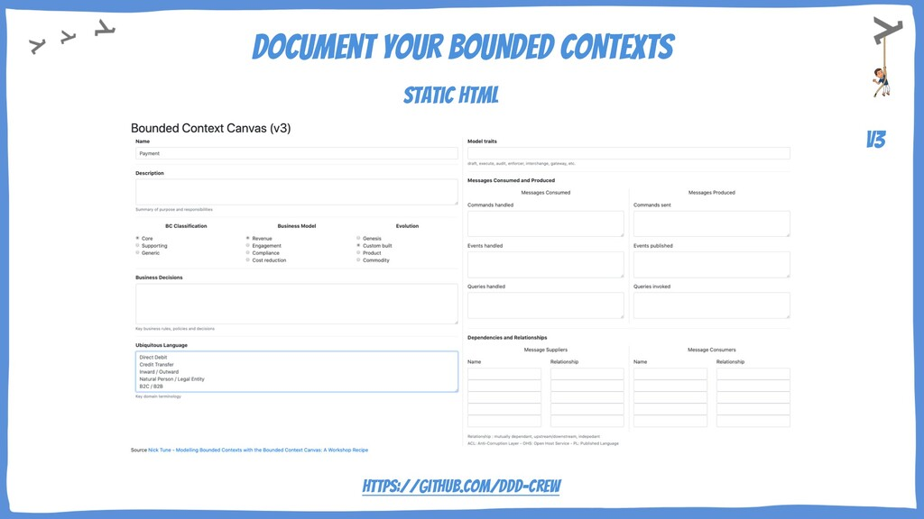Document your BOUNDED CONTEXTS v3 Static HTML h...