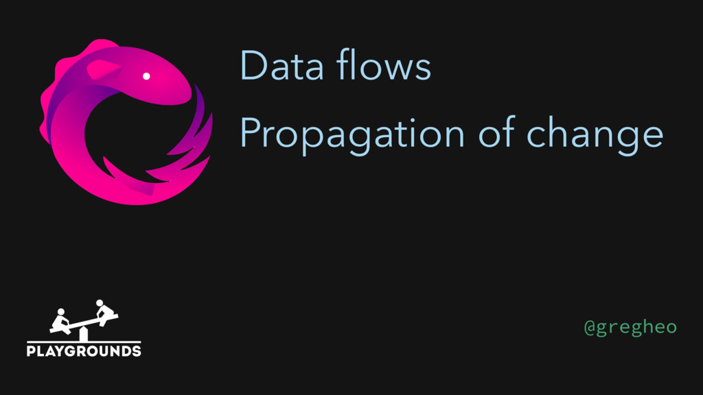 Data flows Propagation of change