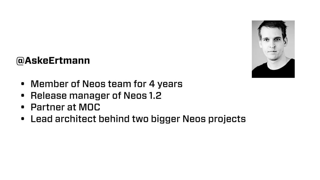@AskeErtmann • Member of Neos team for 4 years ...