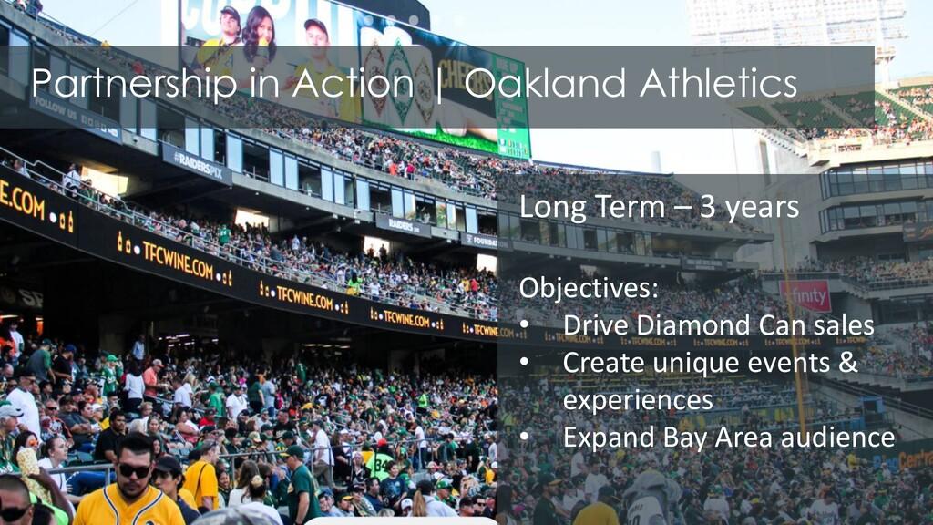 Partnership in Action | Oakland Athletics Long ...