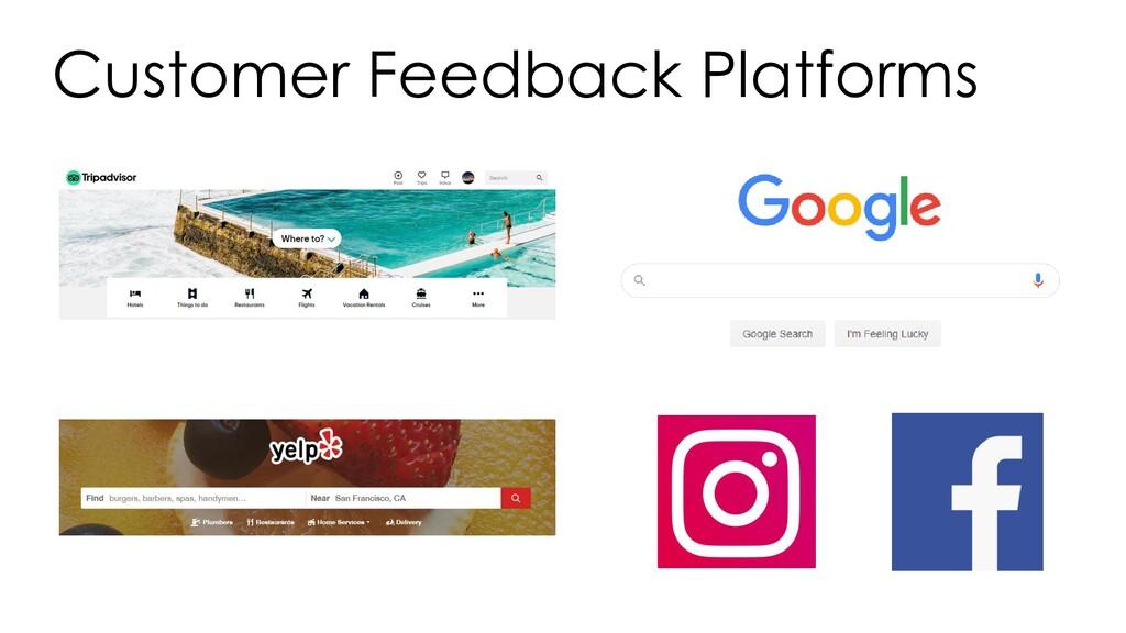 Customer Feedback Platforms